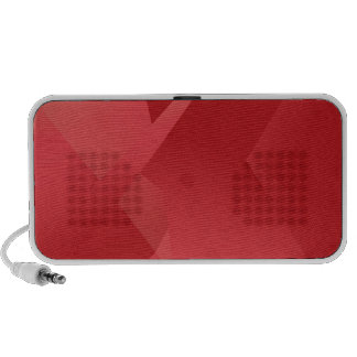 Funky Red Collection iPhone Speakers