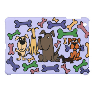 Funky Rescue Dogs and Biscuits Case For The iPad Mini