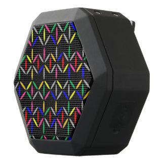 funky retro bold on black speaker