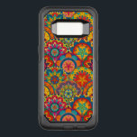 "Funky Retro Colorful Mandala Pattern OtterBox Commuter Samsung Galaxy S8 Case<br><div class=""desc"">Decorative funky colorful bohemian retro mandala flowers vintage pattern.</div>"