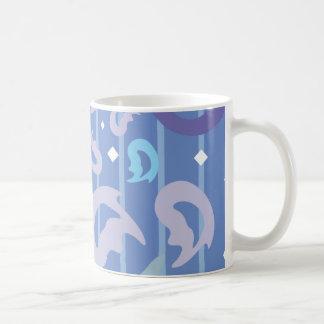 Funky Retro Flame Background Coffee Mug