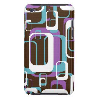 Funky Retro Geometric Pattern iPod Case-Mate Case