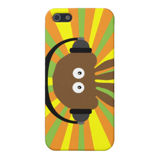 Funky Retro Jellyfish With Heads Psychedelic Case For iPhone 5