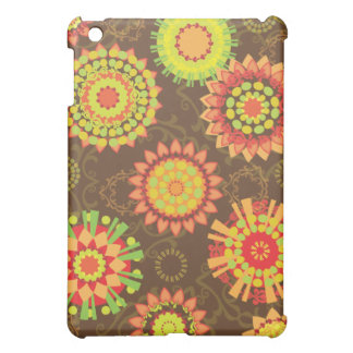 Funky Retro Mod Abstract Pattern iPad Case