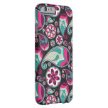 Funky Retro Paisley Pattern Barely There iPhone 6 Case