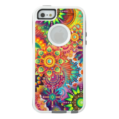 Funky Retro Pattern Abstract Bohemian Phone Case