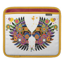 funky retro pop wings sleeve for iPads