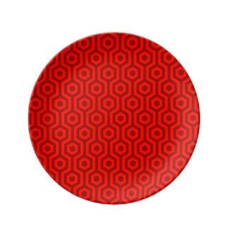 Hexagon Shape Plates   Zazzle