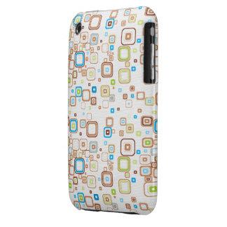 Funky Retro Squares iPhone 3G Case iPhone 3 Case-Mate Case