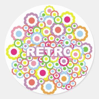 Funky Retro Stickers