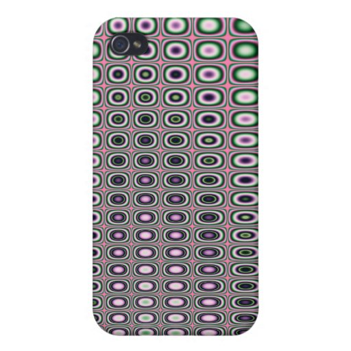 Funky Rings iPhone 4 Cover
