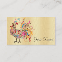 Funky Rooster Business Card