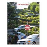 Funky San Francisco Postcard! Postcard