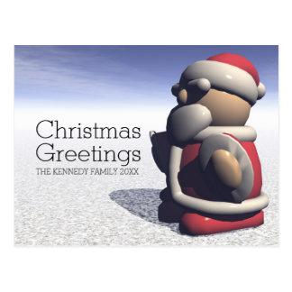 Funky Santa Postcard
