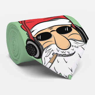 Funky Santa Says How Ya Been Tie