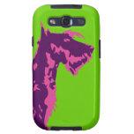 Funky Scottish Terrier Pop Art Samsung Galaxy S3 Cases