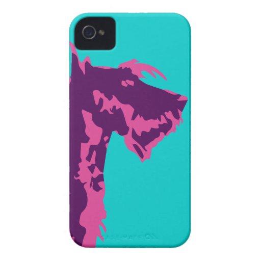 Funky Scottish Terrier Pop Art Case-Mate iPhone 4 Cases