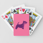 Funky Scottish Terrier Pop Art Deck Of Cards