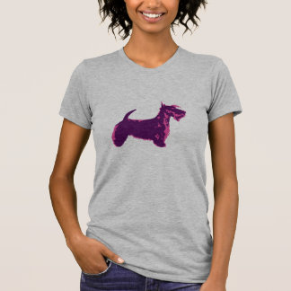 Funky Scottish Terrier Pop Art T-Shirt