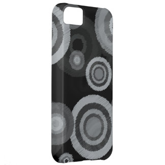 Funky Scribble Circles iPhone 5C Case