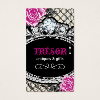 Funky Shabby Chic Business Cards