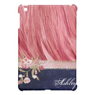 Funky Shabby Flamingo Feathers iPad Case