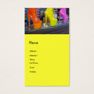 Funky Shoes Business Card