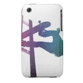 Funky Skateboarder Skate Kid Case-Mate iPhone 3 Case