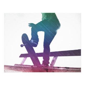 Funky Skateboarder Skate Kid Flyer