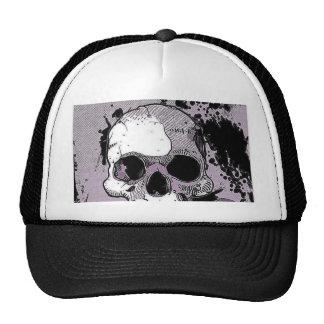 funky skull.toony trucker hat