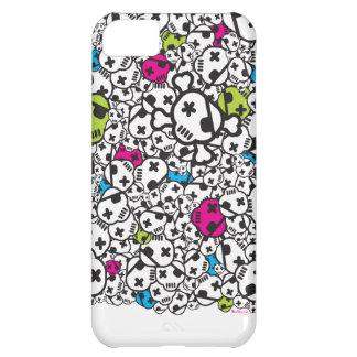 Funky Skulls Case iPhone 5C Case