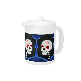Funky Skulls Teapot