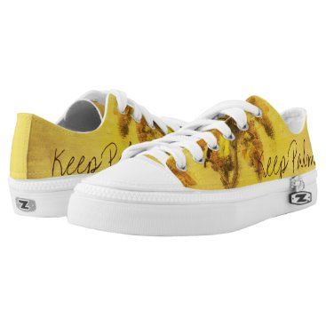 Beach Themed Funky sneakers palms