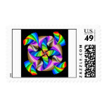 Funky Spiral Postage