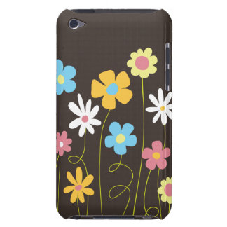 Funky Spring Flowers iPod Touch Cover