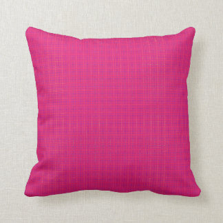 Funky squares pillow