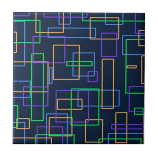 Funky Squares Tile