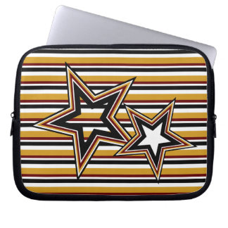 Funky Star and Stripes Laptop Sleeve