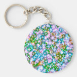 Funky Stars, pink Keychains