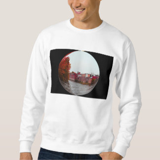 Funky style sweatshirt
