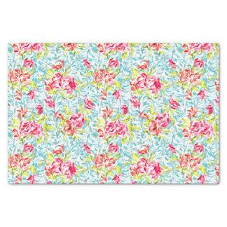 Funky Summer Colors Paint Splatter Pattern Tissue Paper