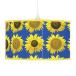 Funky Sunflower Lamp