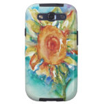 Funky Sunflower Samsung Galaxy S3 Cover