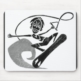Funky Surfer Mouse Pad