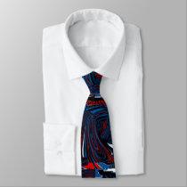 Funky Swirls Tie