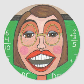 Funky Teacher - sticker