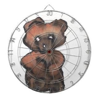 Funky Teddy Bear - Cricketdiane Art Dartboard
