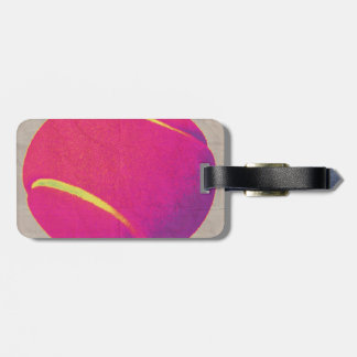 Funky Tennis Ball 2 Tags For Bags