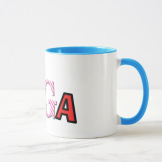 Funky Text Design - Coffee Mugs - Unique Yoga Gift
