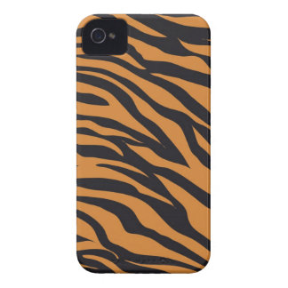 Funky Tiger Stripes Wild Animal Patterns Gifts iPhone 4 Covers